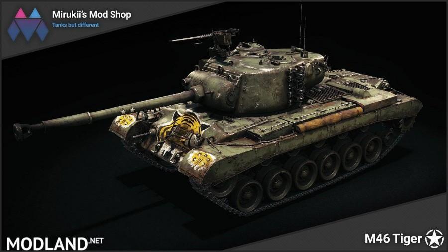 Mirukii's M46 Tiger Remodel [1.5.1.0]